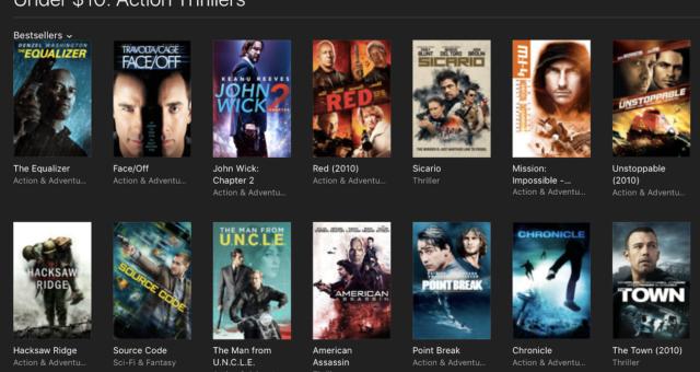 Hancock, X -Men a další iTunes filmy jsou nyní zlevněné