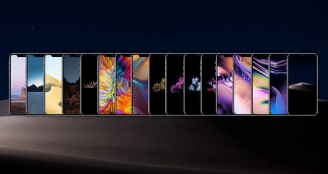 Všechny macOS Mojave tapety pro iPhone