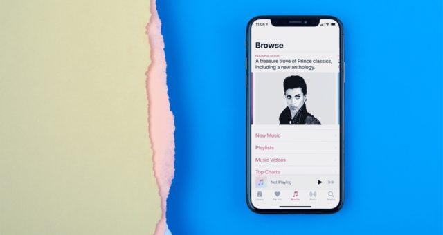 Princova hudba se objevila na Apple Music a dalších streamovacích službách