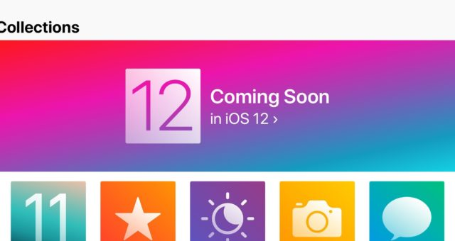 Apple představil některé iOS 12 funkce skrze aplikaci Tipy