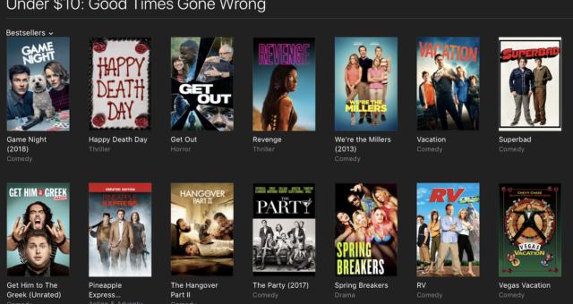 Ready Player One, Get Out a další filmy na iTunes jsou nyní zlevněné