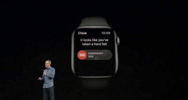 Apple Watch Series 4 vám umožní při pádu spojit se s tísňovými službami