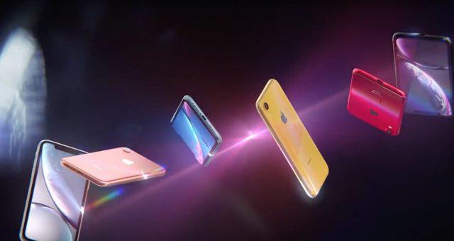 K příležitosti předprodeje iPhone XR Apple sdílel dvě nová videa