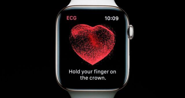 Apple Watch Series 4 funkce EKG by údajně měla přijít spolu s watchOS 5.1.2