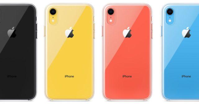 Dlouho očekávaný průhledný kryt na iPhone XR je nyní k dispozici