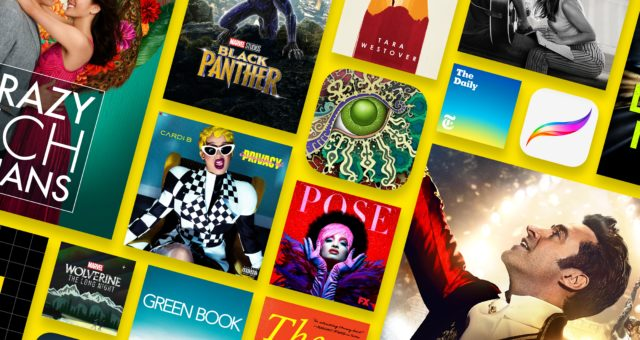"""Apple zveřejnil seznam """"Best of 2018"""" ve svém App, Books a iTunes Store"""