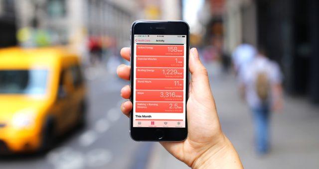 Jak upřednostnit v aplikaci Zdraví pořadí registrace kroků z různých zařízení