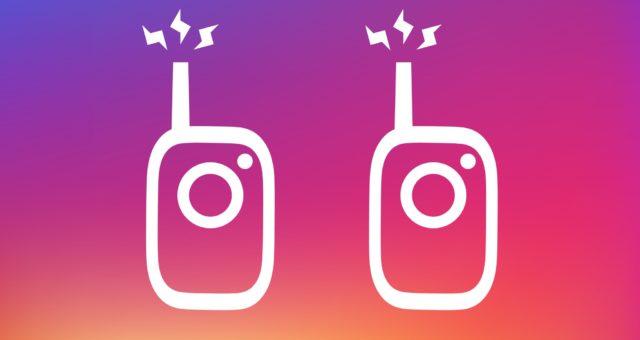 Instagram vydal novou funkci Walkie-Talkie