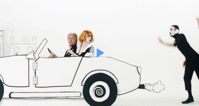 Paul McCartney a Emma Stone spolupracovali na exkluzivním videu Apple Music