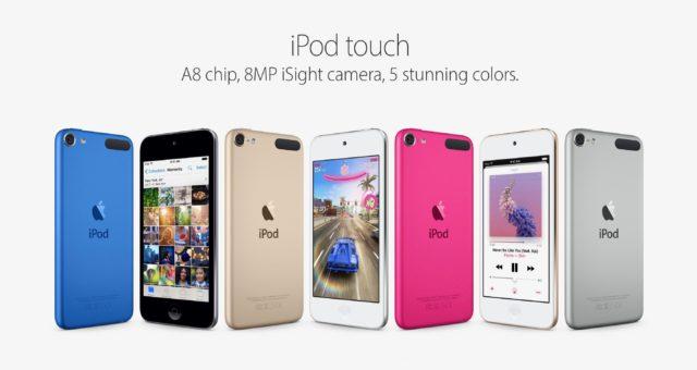 Apple údajně vyvíjí nový iPod touch. Bude mít nový iPhone USB-C?