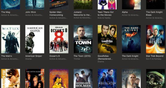 Jumanji, Sherlock Holmes a další filmy na iTunes jsou nyní zlevněné
