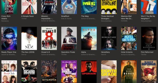 Gladiator, Forrest Gump a další filmy na iTunes jsou nyní zlevněné