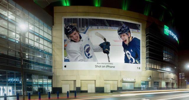 """Apple a NHL začali spolupracovat na nové kampani """"Shot on iPhone"""""""