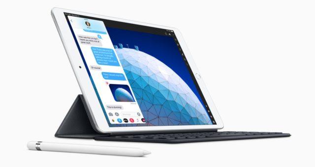 Nová iPad Air reklamní tapeta