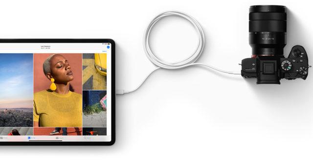 iOS 13 vám umožní přenášet fotografie z externích zařízení přímo do různých aplikací