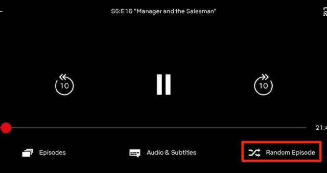 Netflix testuje funkci shuffle