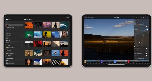 Pixelmator Photo je nyní k dispozici pro iPad