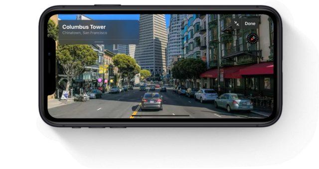 Sedm let po debutu aplikace Mapy společnost Apple ukazuje Googlu, jak by mělo vypadat Street View