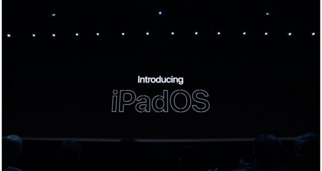 Apple vytvořil samostatný systém pro zařízení iPad s názvem iPadOS