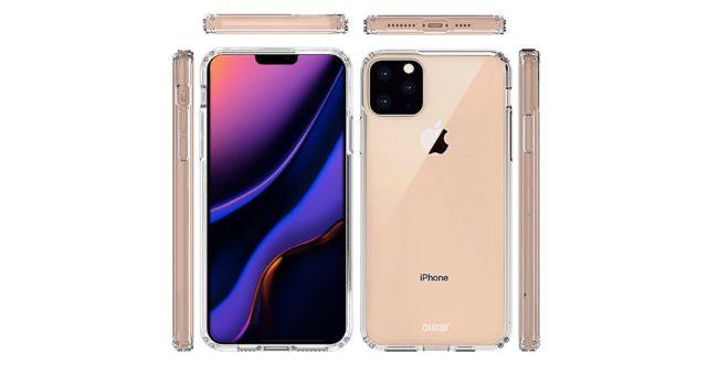 Výrobci obalů pro iPhone 11 Max předvedli model se čtvercovým výřezem pro fotoaparát a další