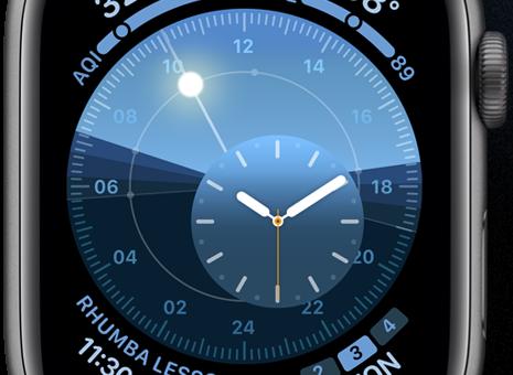watchOS 6 přináší spousty nových vzhledů hodinek