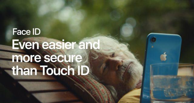"""Apple zvýraznil Face ID v nové reklamě """"Nap"""""""
