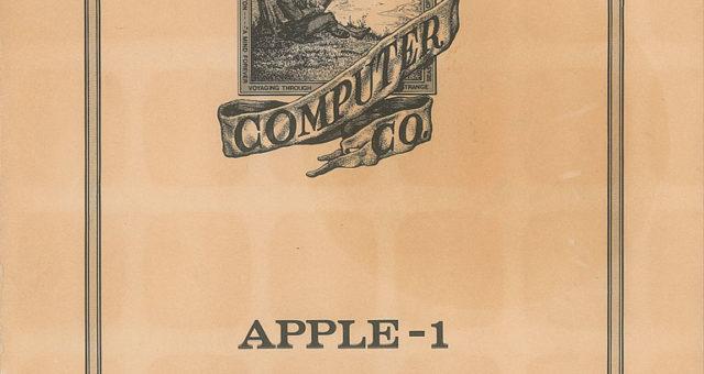 """""""Extrémně vzácný"""" manuál Apple I z roku 1976 možná překoná cenu více než 10 000 dolarů v aukci"""