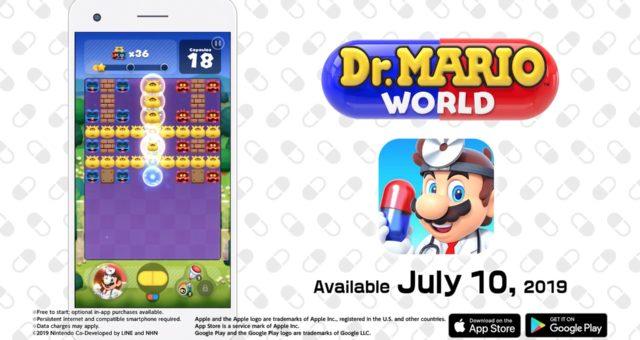 """""""Dr. Mario World"""" je nyní k dispozici"""