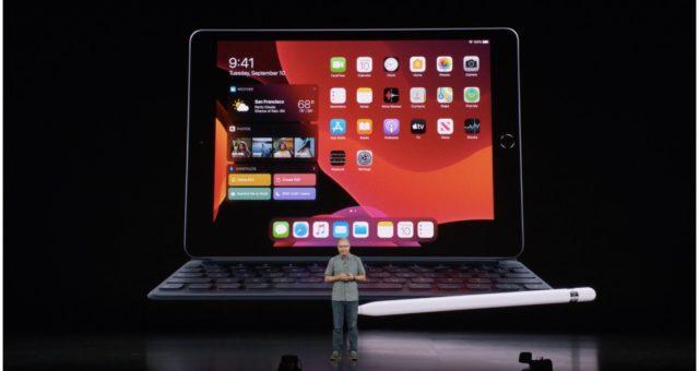 Apple představil iPad 7. generace s 10,2palcovým displejem