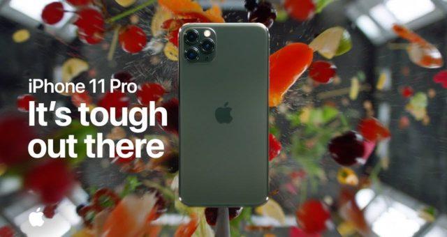 Apple předvedl kolizní testování a systém trojitých kamer iPhone 11 Pro v nových videích