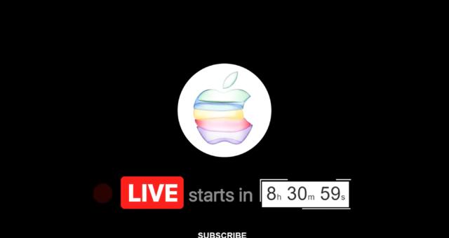 Dnešní konferenci můžete sledovat živě na YouTube