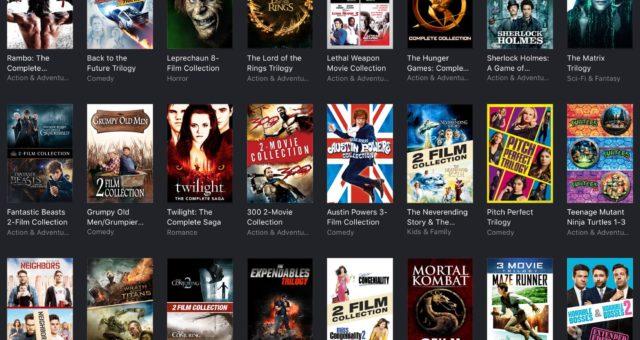 Hunger Games, Rambo a další filmy na iTunes jsou nyní zlevněné