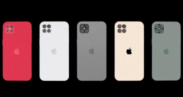 Koncept iPhone 12 Pro představuje design iPhone SE s displejem ProMotion, čtyřmi kamerami a další