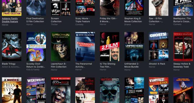 It, Addams Family a další filmy na iTunes jsou nyní zlevněné