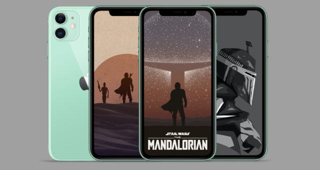 Disney+ Star Wars The Mandalorian tapety pro iPhone