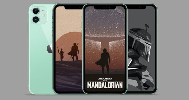 Disney+ Star Wars The Mandalorian tapety pro iPhone
