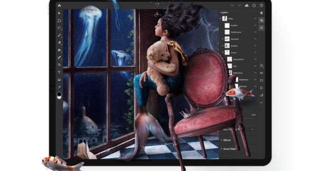 Adobe uvádí Photoshop pro iPad