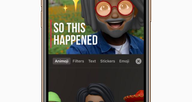 Aplikace Clips přináší podporu Animoji a Memoji, Mickey & Minnie nálepky a další