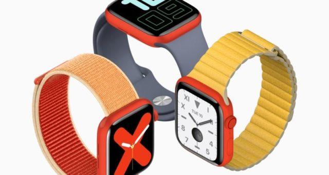 Apple Watch Series 5 (PRODUCT)RED by mohly být představeny v květnu 2020