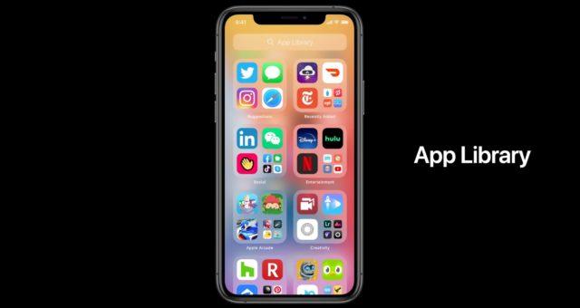 """Systém iOS 14 obsahuje novou """"Knihovnu aplikací"""" pro lepší organizaci"""