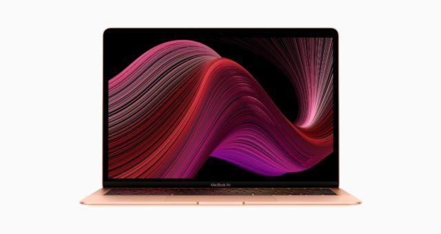Apple představil nový MacBook Air s novou Magic klávesnicí