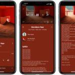YouTube Music pro iOS nyní přináší texty písní