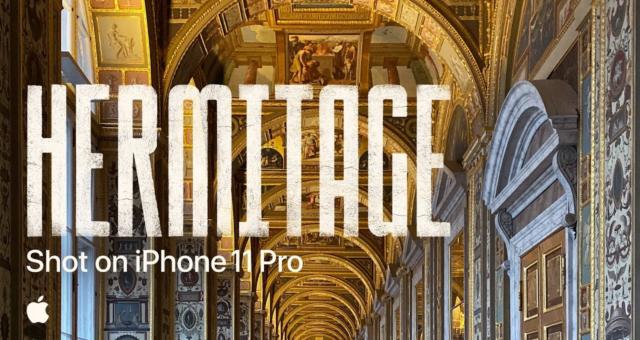 Nejnovější Shot-on-iPhone video je 5hodinová prohlídka Hermitage Museum, která byla natočena během jednoho záběru