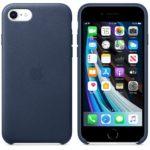 Apple uvádí na trh nové silikonové a kožené kryty pro nový iPhone SE