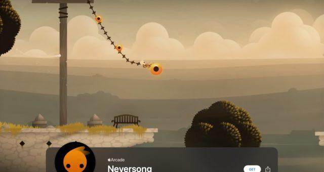 """""""Neversong"""" je nejnovějším přírůstkem Apple Arcade"""