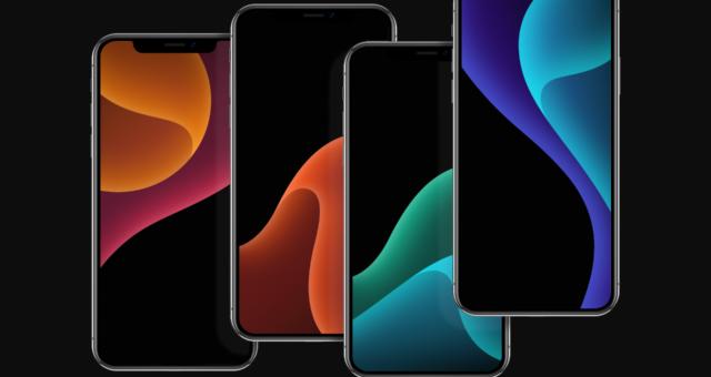 OLED optimalizované tapety pro iPhone