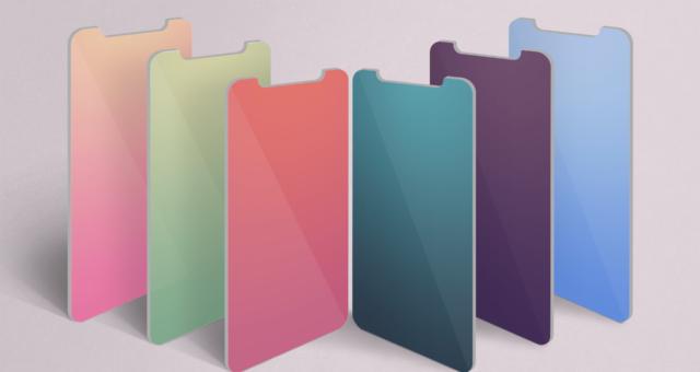 Stínované tapety týdne pro iPhone