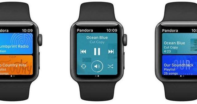 Aplikace Pandora pro Apple Watch nyní podporuje Siri