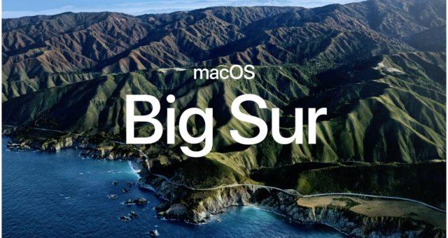 Apple oznámil, že MacOS 10.16 se nazývá Big Sur