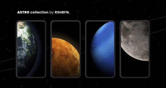 Tapety týdne: vesmír a planety